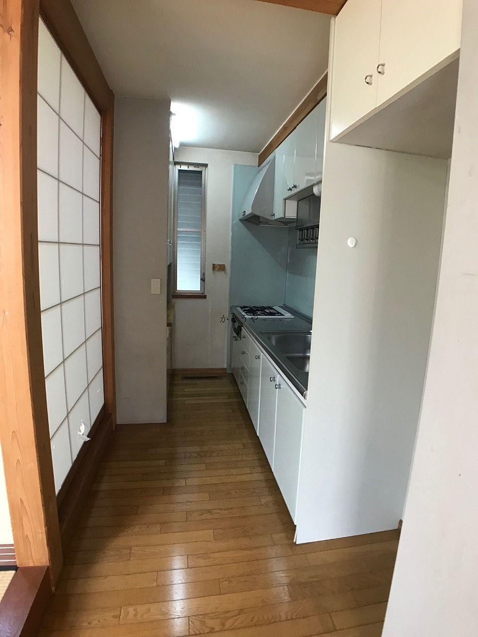 三輪野山1丁目賃貸戸建 1階キッチンです。