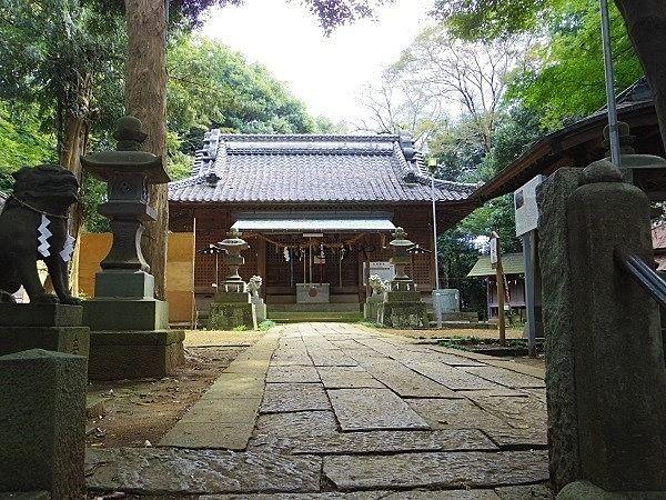 熊野神社境内。小さな小さな神社ですが、私たちの氏神様。大切にお祭りしていきたいです。
