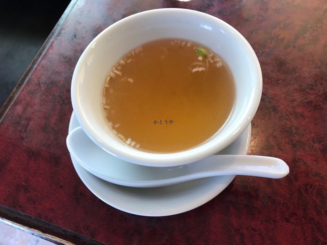 ほんわ華やさんのランチのスープです。