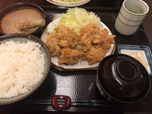 松戸のとんかつ三太さんの定食