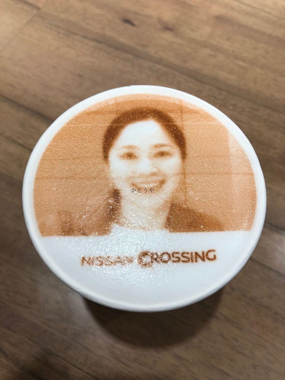 やったら結構面白かった銀座NISSANCROSSINGカフェのマキアート