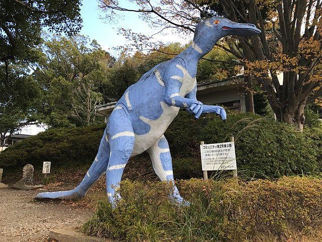 ちょっとコアすぎて解らない恐竜も野々下の怪獣公園にはいます