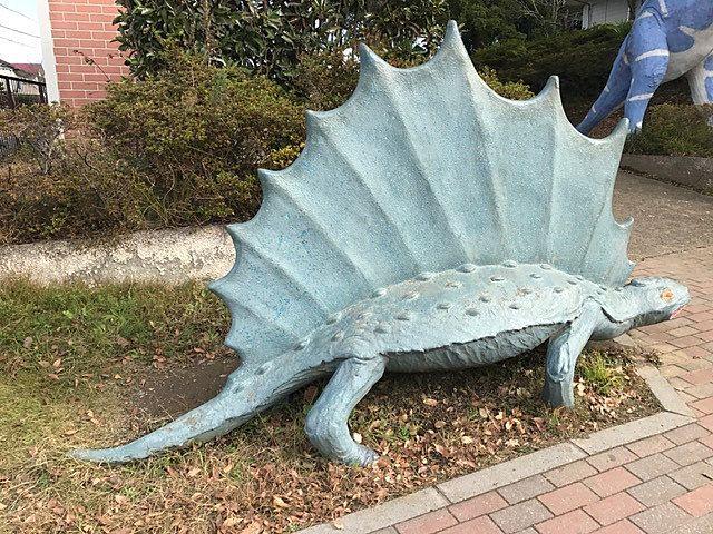 流山市野々下にいるステゴサウルス