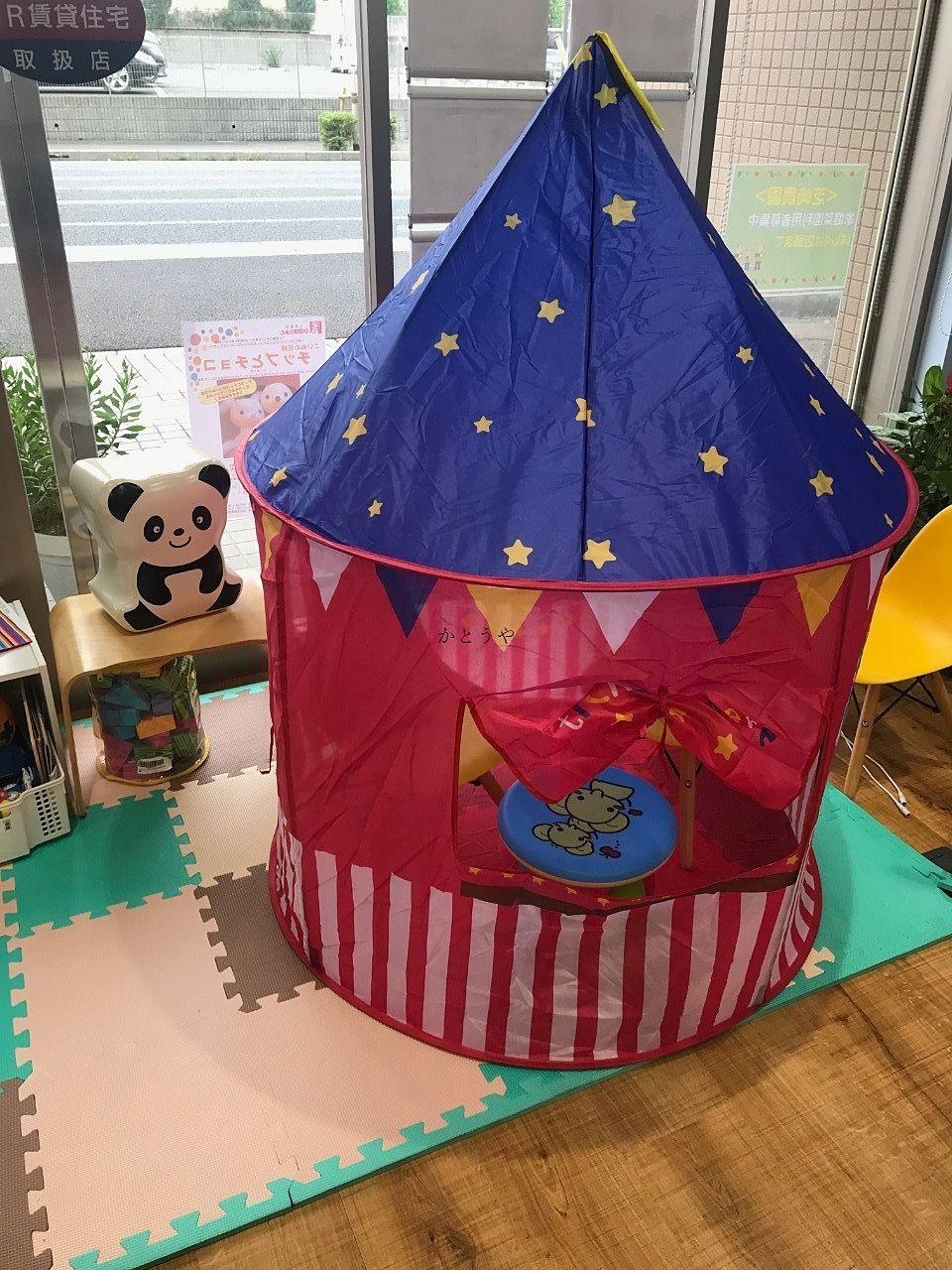 デンマーク発の雑貨屋さんFlyingTigerCopenhagenで可愛い子ども用テントを見つけました!