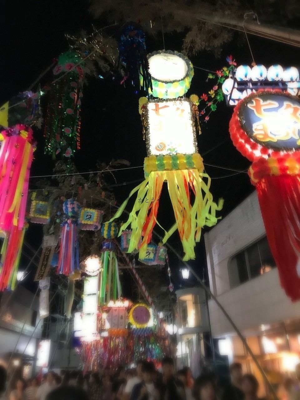 とっても熱気のあるお祭り茂原七夕祭りです。