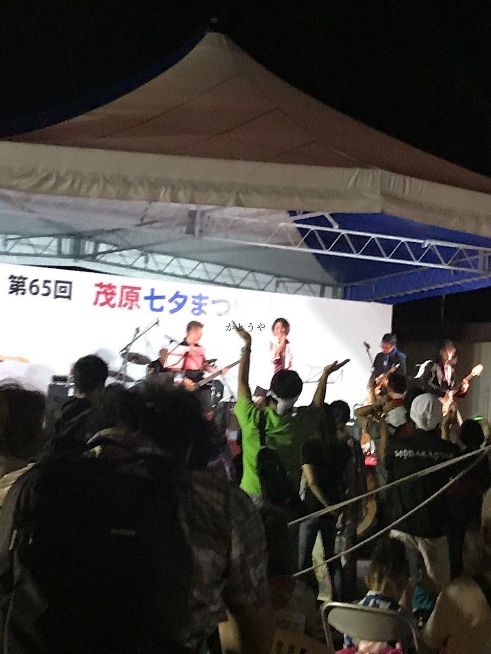 観客もノリが良い茂原七夕祭りです。