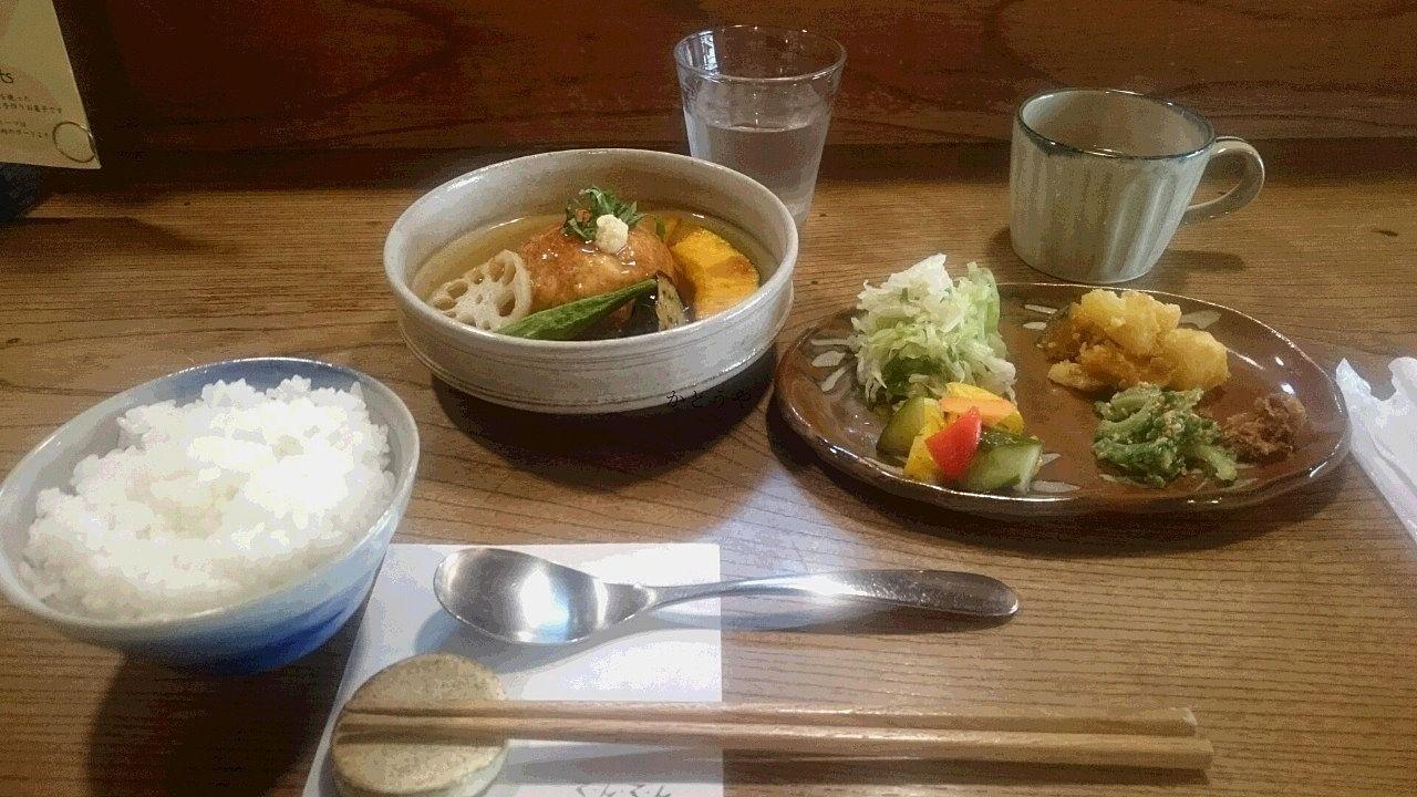 カフェ てんてん 野田市 カレー