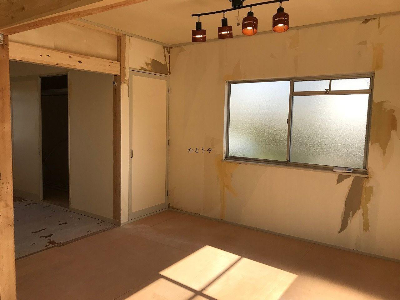グレイス・キューブ105、畳部屋だった部分もフローリングに変更されます。