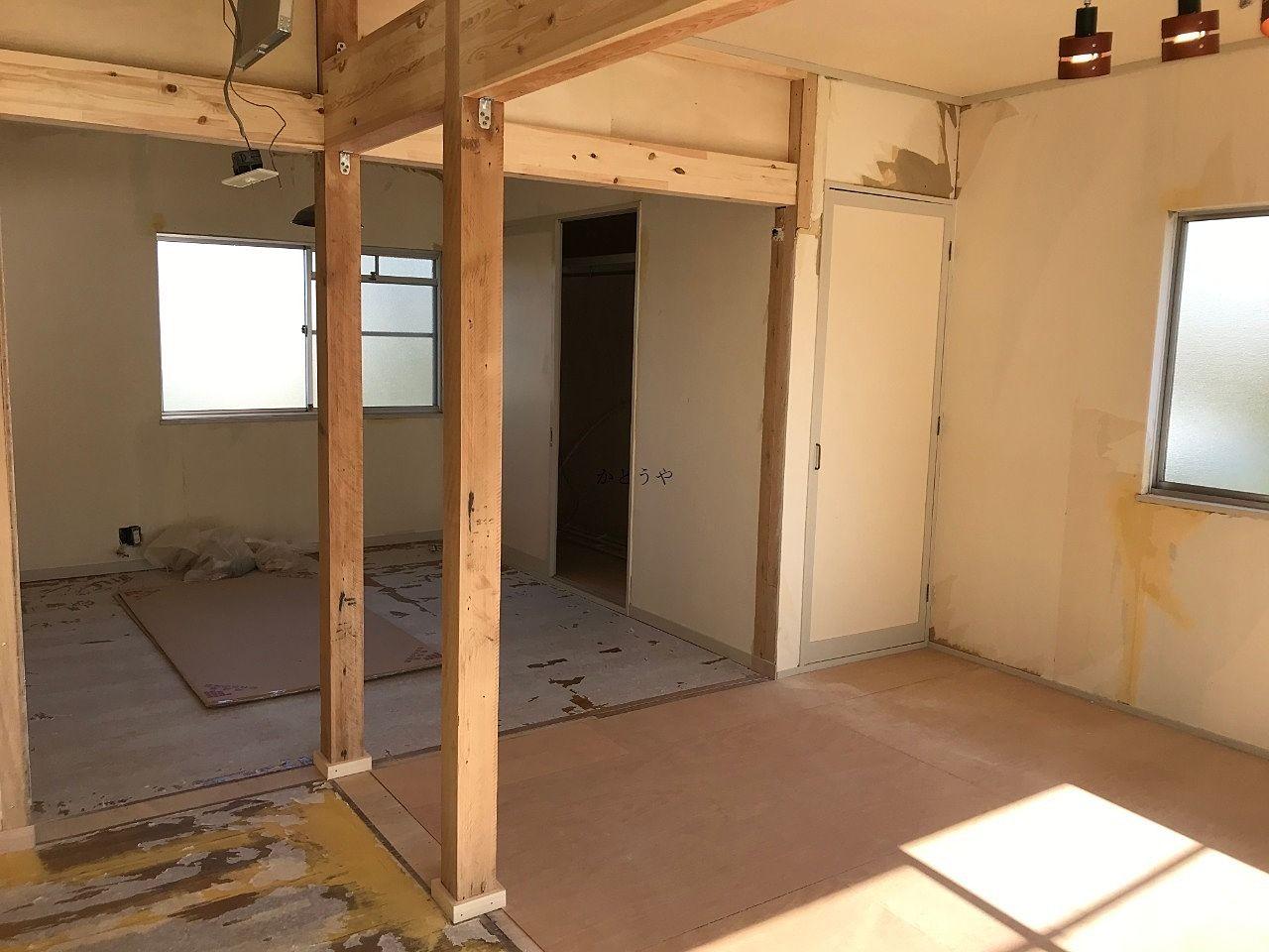 グレイスキューブ105号室改装中です!