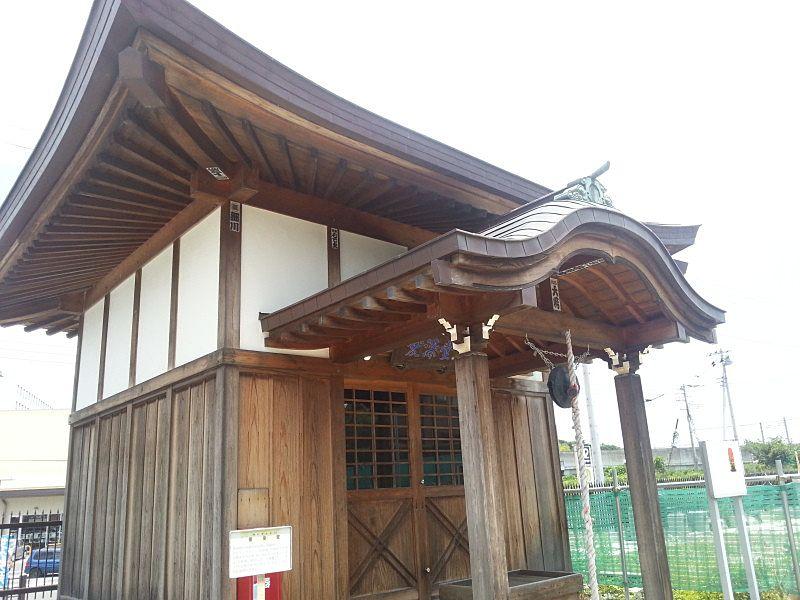 流山市中 愛染堂の外観です。歴史ある仏様です