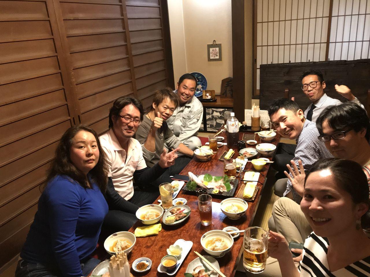 南流山金寿司さんの個室