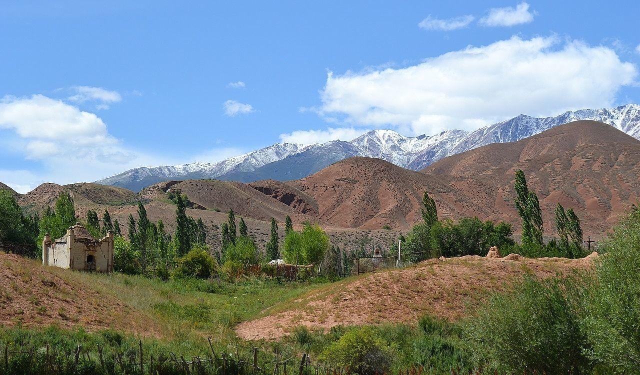 キルギスの風景写真