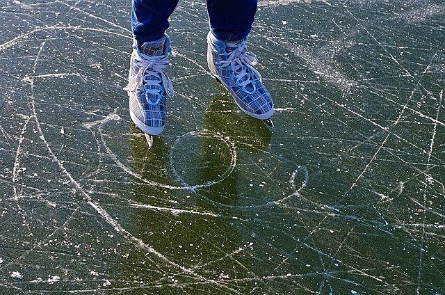 年始恒例、流山おおたかの森スケートイベント